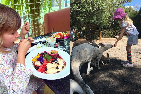 digital nomad family, full time travel with kids Thailand